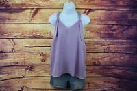 Mossimo Women's Dressy Tank Top, Size Large women shirts lavender blouse
