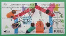 Nederland NVPH 2886 blok kinderzegels 2011 mooi gestempeld