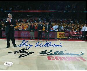 GARY WILLIAMS MARYLAND TERRAPINS COACH & BASKETBALL HOF RARE SIGNED PHOTO/PROOF