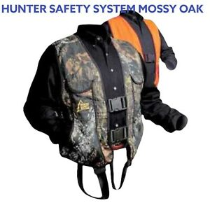 Hunter Safety System Tree Stand Safety Harness - Reversible - L/XL 175-250 lbs.
