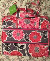 NWT Vera Bradley Hanging Organizer Cosmetic Travel Bag Cheery Blossoms HTF