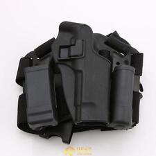 Tactical Drop Leg Thigh Rig Holster Platform Panel Plate For Beretta Gun M9 M92