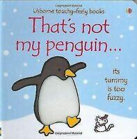 That's Not My... Penguin by Fiona Watt - Usborne Touchy-Feely