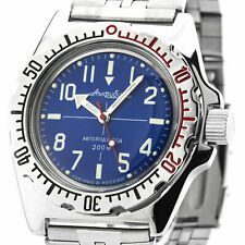 Vostok Amphibian 110648 Military Russian Diver Watch