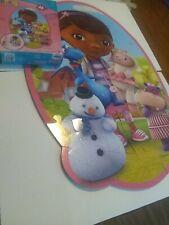 """Doc McStuffins Childrens Wall Puzzle 46 Pieces 24"""" x 36"""" Disney Junior"""