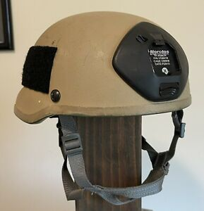 MSA-TC 2002 ACH MICH Ballistic Helmet Size medium Ops Core Notoros SFG CIF 2008