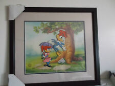 Woody Woodpecker & Winnie Cel 3 D Effect Walter Lantz  Framed #97 Out of 350