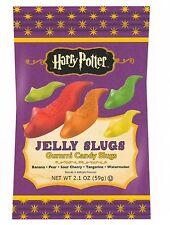 Harry Potter - JELLY SLUGS - Jelly Belly GUMMI Candy - 2.1 oz - 3 PACK