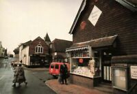 Sussex Postcard, Post Office, Ditchling Village, South Downs, Royal Mail KI6