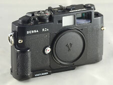 Voigtlander  Bessa R2A body with hand grip and case