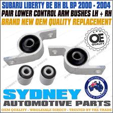 Subaru Liberty BE BH BL BP Front Lower Control Arm Inner Bush Kit LEFT+RIGHT