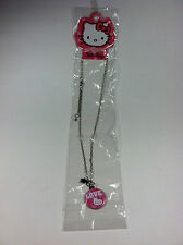 Pink Love Star Hello Kitty Necklace for Age 3 and Up Design by Sanrio
