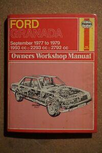 Ford Granada Car Workshop Manuals For Sale Ebay