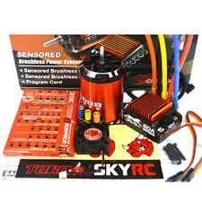 SkyRC Cheetah 4000KV 8.5T Sensored Brushless Motor CS60 60A ESC 1/10 Combo