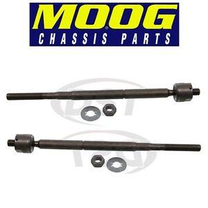 For Pair Set of 2 Inner Tie Rod Ends MOOG EV800060 for Scion xB Toyota Echo