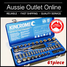 KINCROME Professional Quality Socket Set Tools 61 Piece - Aussie Outlet Online