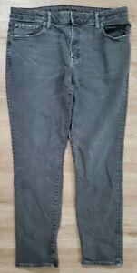 American Eagle Mens Jeans Size 36x30 Slim Next Level Flex Gray