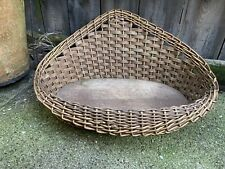 More details for vintage french shop counter display basket bakery fruit flowers game painted