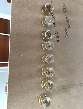 Gainsborough Sonata crystal door handles