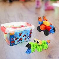 133pcs of DIY Educational Assemble Building Blocks Construction Bricks Christmas