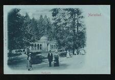 Austria MARIENBAD Waldquelle park scene c1902 u/b PPC