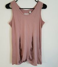 Adidas SLVR Womens Tank Top Shirt Size M Pastel Pink Sleeveless Workout Athletic
