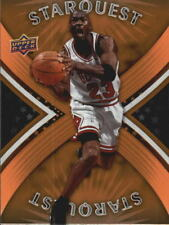 Michael Jordan #SQ20 Copper Upper Deck Starquest 2008/09 NBA Basketball Card