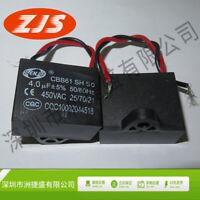 CBB61 4.0UF 450VAC 50/60Hz Ceiling Fan Capacitor 4 PINS