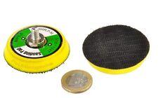 3 Stück Polierteller Ø50mm Klettaufnahme Polierscheibe Druckluftschleifer 01310