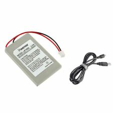 New 2X Replacement Battery Pack For SONY PS3 Controller + USB Charger Cable