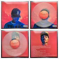 RARE CHANCE THE RAPPER COLORING BOOK CLEAR VINYL 2x LP [ acid rap the big day 10