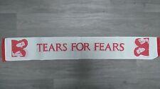 Tears for Fears vintage music scarf sjaal pop rare logo