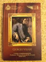 2 EURO Gedenkmünze Sondermünze SAN MARINO 2011 Giorgio Vasari BU Blister Folder