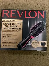 REVLON PRO Collection Salon One Step Hair Dryer and Volumizer Brush Pink/Black