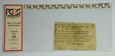 1771 Province of North Carolina 2 Shillings 6 Pence Note