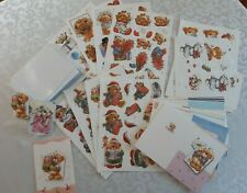 Card Making Kit - Teddy Bear, Modern, Cute - Preowned, Partially Used