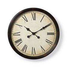 Orologio da Parete Vintage Ingranaggio stile retrò in legno con numeri romani 3