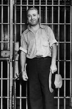 "New 5x7 Photo: George Francis Barnes, Gangster ""Machine Gun Kelly"" Behind Bars"