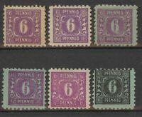Lot Germany SOVIET ZONE 1945, Mi10, mint, combine shipping, 0166