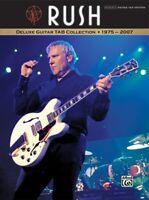Rush: Deluxe Guitar TAB Collection 1975-2007 - Gutiar Songbook 32047