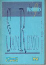 FESTIVAL DI SANREMO 1992 TESTI CON ACCORDI
