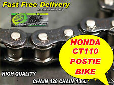 CHAIN and SPROCKET KIT suit HONDA CT110 POSTY POSTIE 1986 to 1998 HEAVY DUTY
