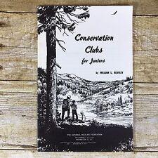 Vintage Conservation Brochure Clubs For Junior National Wildlife Federation 1957