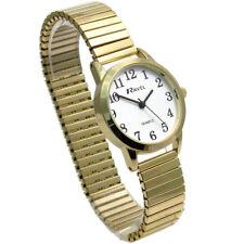 Ravel Ladies Super-Clear Quartz Watch with Expanding Bracelet Gld #38 R0232.02.2