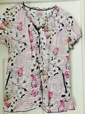 Koi Scrub Top Large