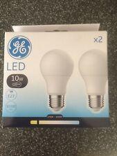 LED E27 Screw Bulb - Warm Wight, Pack of 2
