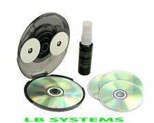 CD DVD PC PS3 XBOX GAME Disc Cleaner lievi graffi REMOVER