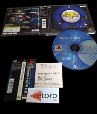 ZERO DIVIDE 2 II The Secret Wish Sony PLAYSTATION PSX COMPLETO JAP Buen Estado