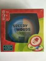 SPEEDY WORDS Game A Game By Advance Games Brand New And Sealed FREE POSTAGE