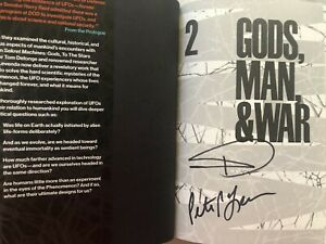 Tom DeLonge signed autograph Sekret Machines Vol 2 Gods Man & War hardcover book